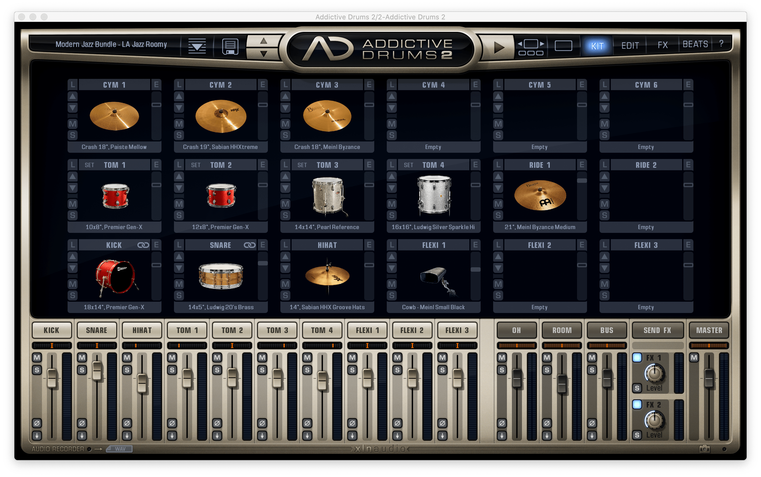 addictive drums 2 badbadnotgood