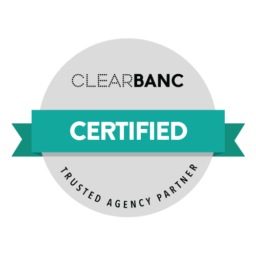 Certified ClearBanc Partner badge