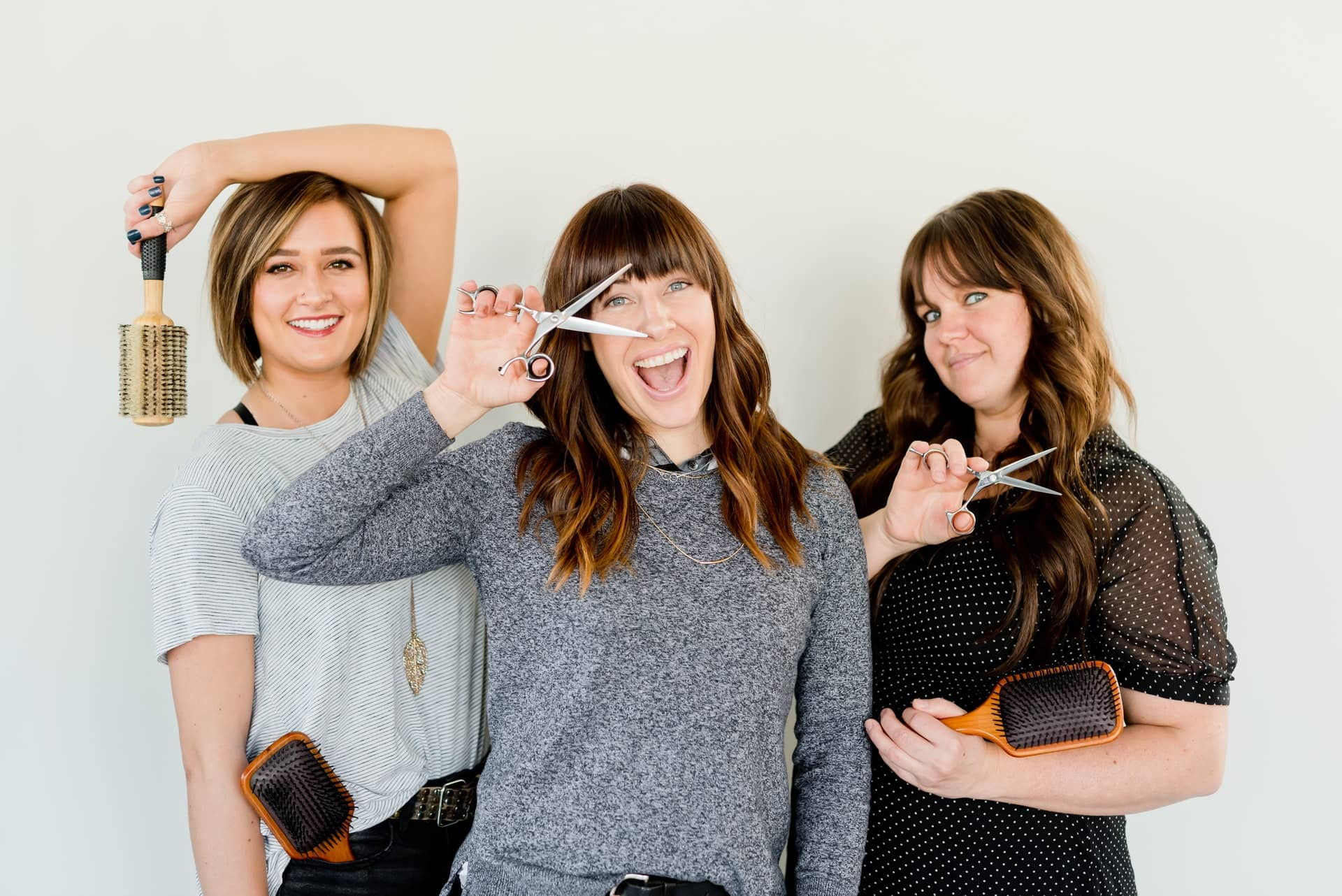3 woman hairdressers in Windsor, Co