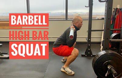 Gavin. High Bar Squat