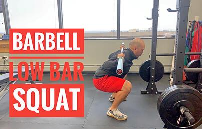 Gavin. Barbell Low Bar Squat