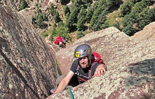 Ed Foreman. Rock Climbing 2