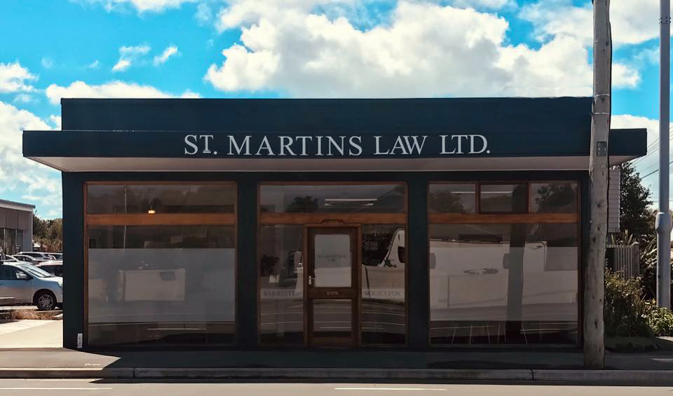 St Martins Law Office Christchurch