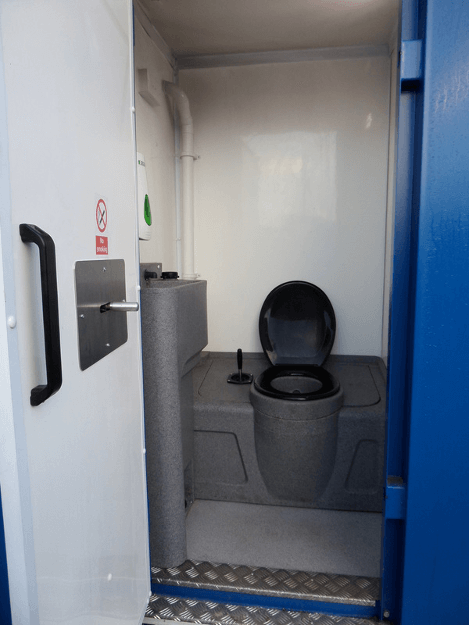 Chemical Toilet In Welfare Unit