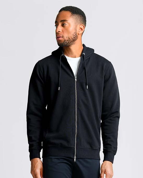 Asket — Zip hoodie