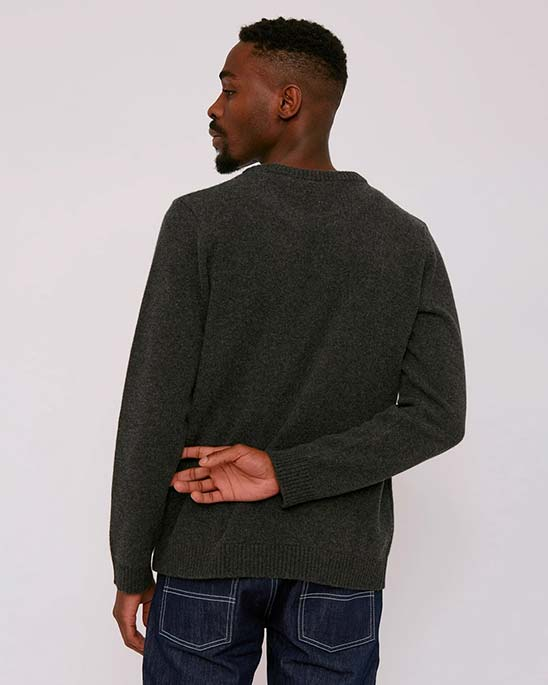 Organic Basics — Mens recycled Wool Knit