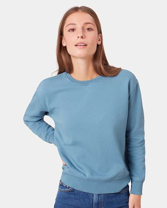 Colourful Standard — Womens classic organic crew