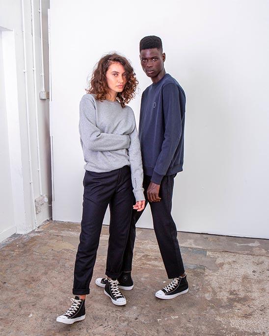 Riley Studio — Human Kind classic sweatshirt