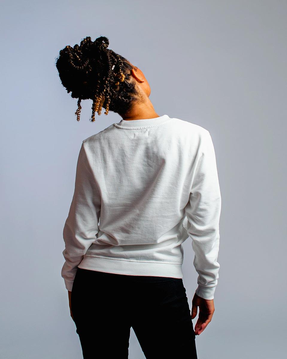 Honest Basics — Womens crew neck sweater