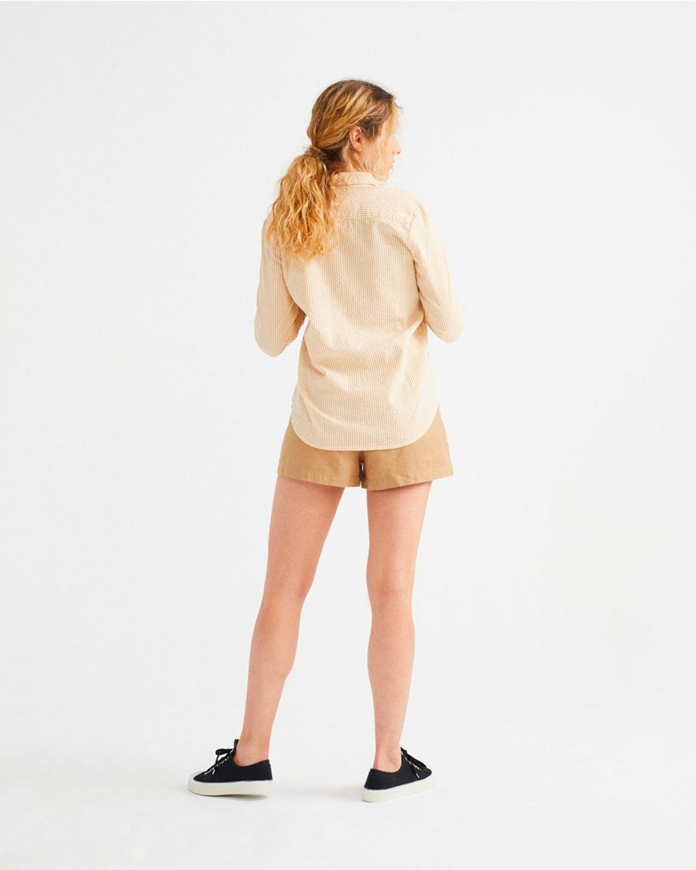 Thinking MU — Seersucker mapple blouse