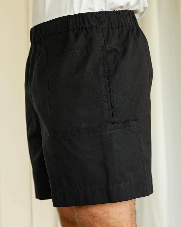 Riley Studio — Cotton pocket shorts