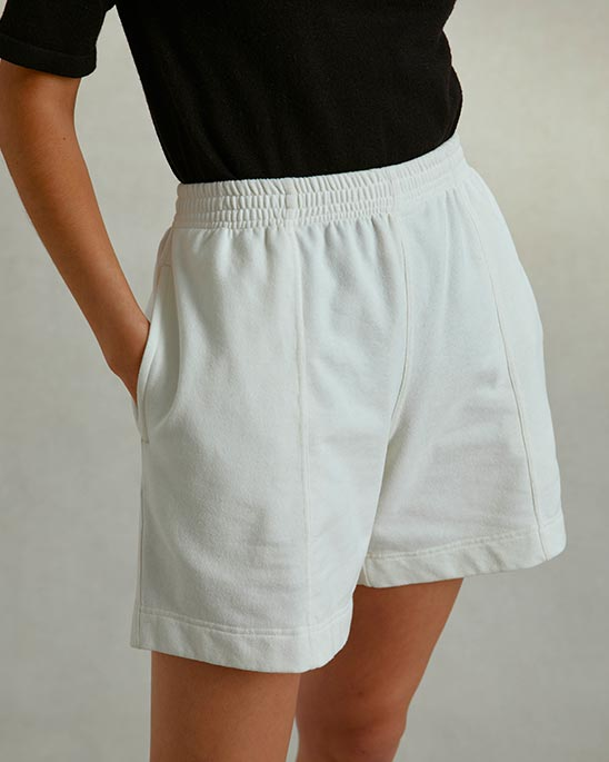Riley Studio — Recycled jersey shorts