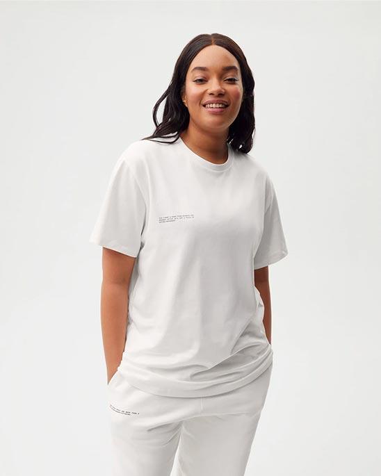 PANGAIA — T-shirt with C-FIBER™