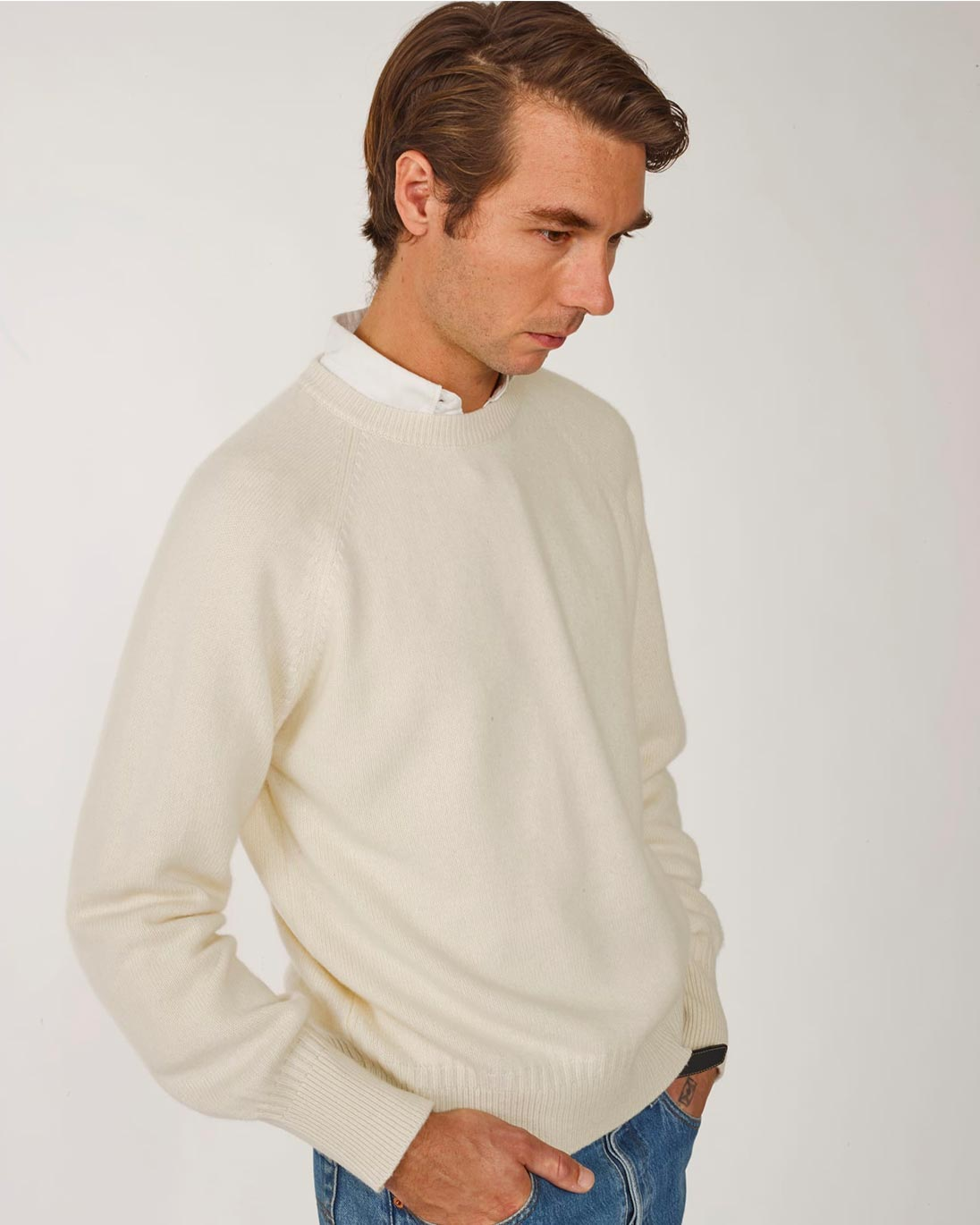 Tricot — Recycled cashmere sweater