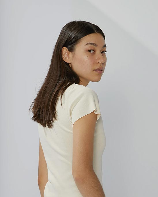 A.BCH — Rib t-shirt