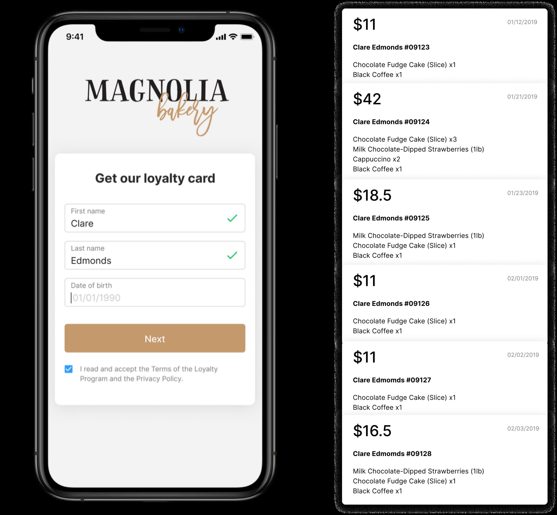 Онлайн-анкетирование и получение электронной карты  Apple Wallet & Google Pay