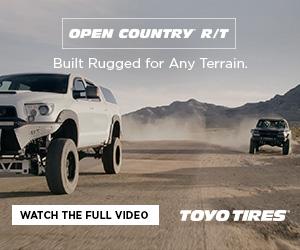 Toyo Tires tacoma digital ad