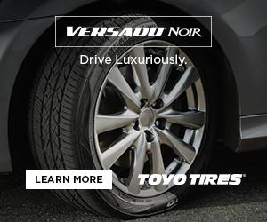 Toyo Tires wheel digital ad