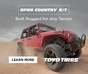 Toyo Tires jeep digital ad