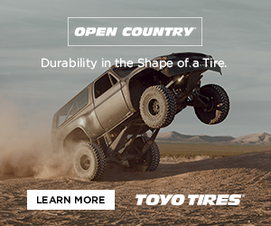 Toyo Tires truck digital ad