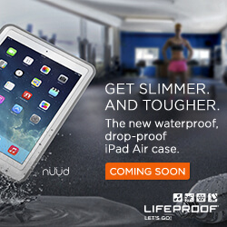 Lifeproof square digital ad Gym ipad