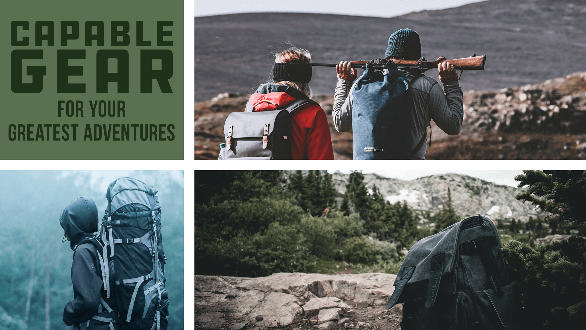 Subsistence supply company Capable Gear Image feature hikers and adventurers