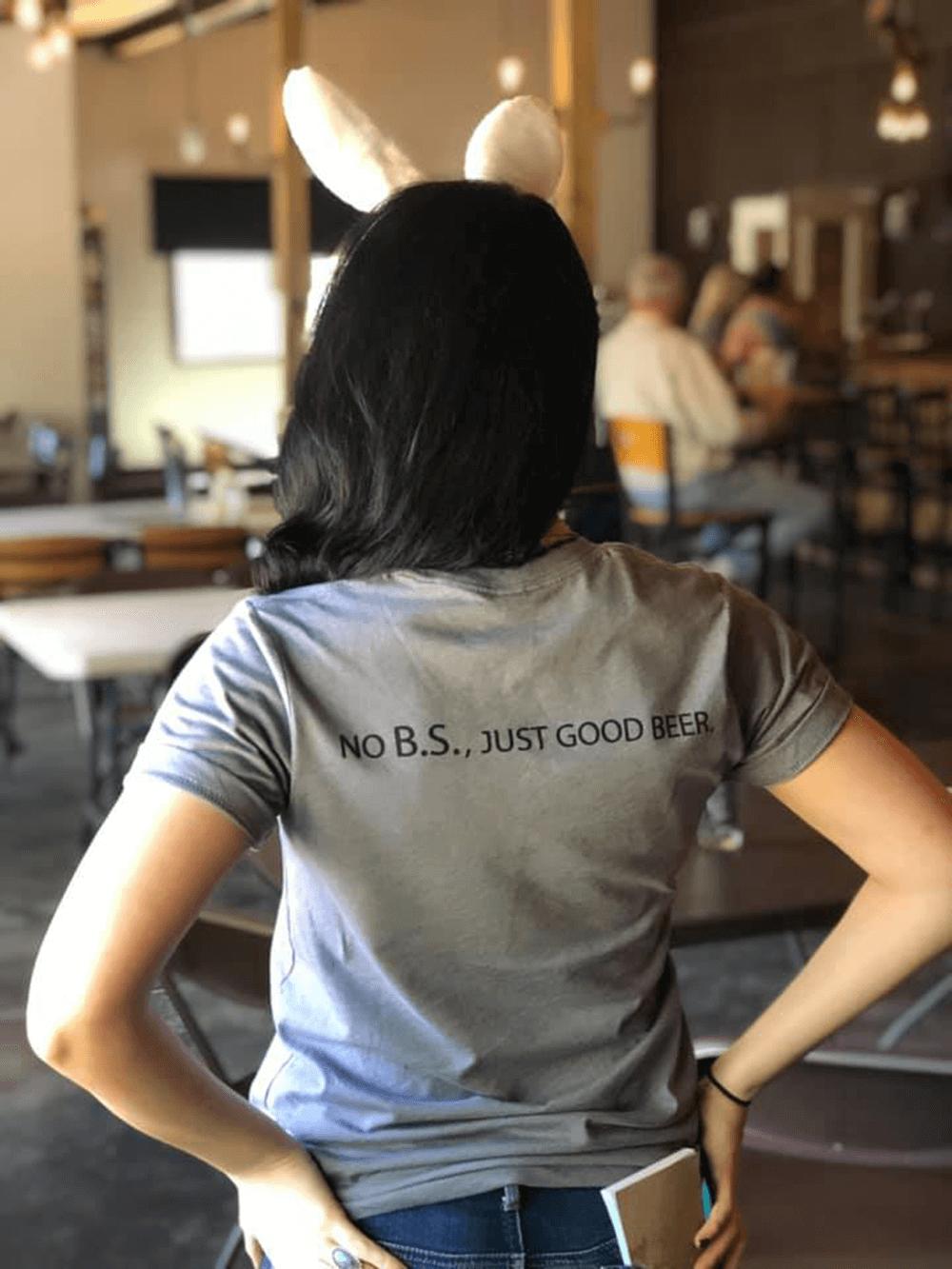berkeley springs brewing company bartender no BS shirt