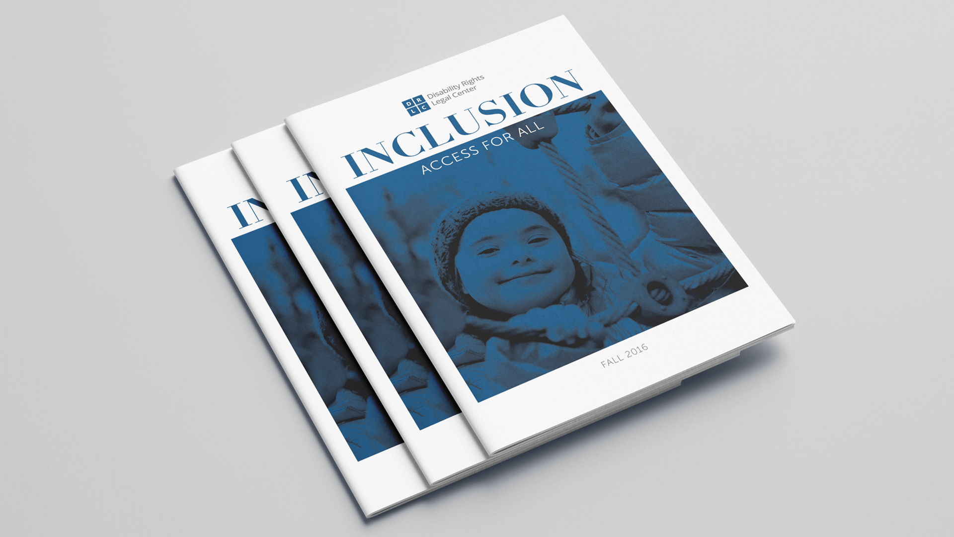 Disability Rights Legal Center Booklet cover mockup