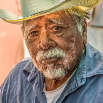 Farmer portrait