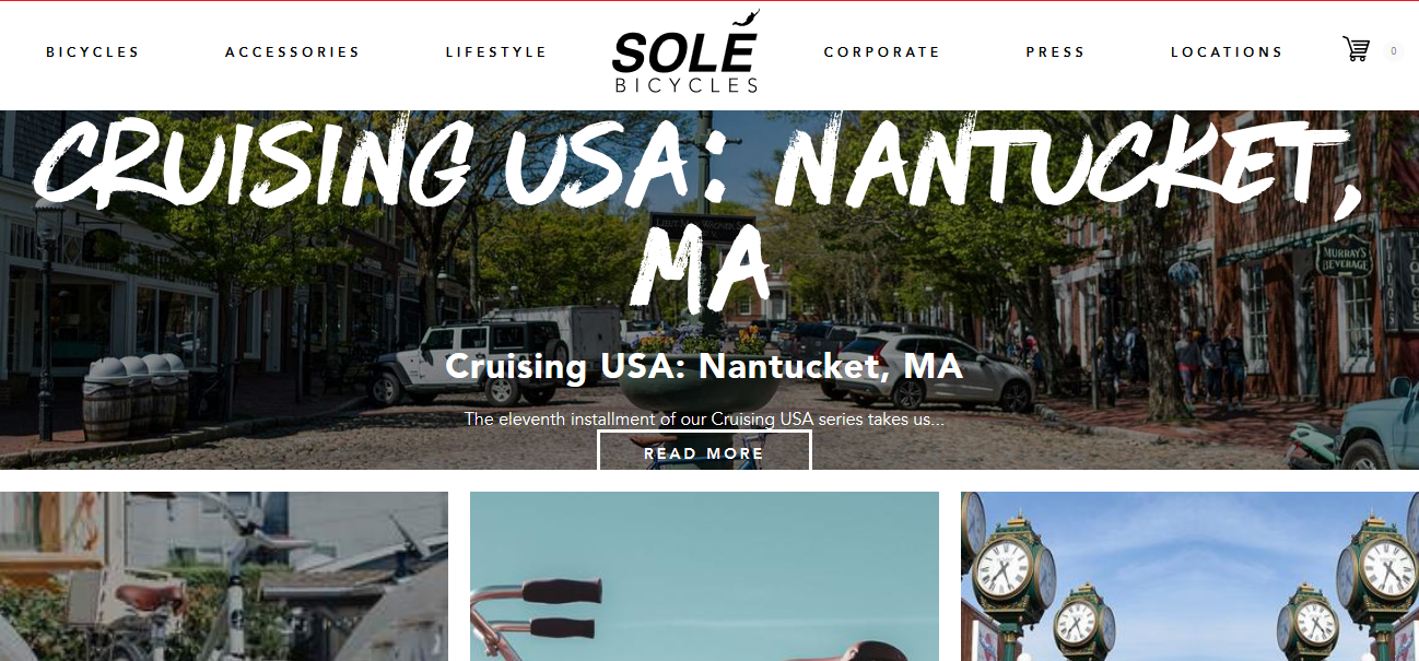 Sole Bicycles Site