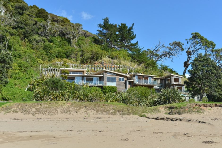 Luxury accommodation at Woolleys Bay, Northland, New Zealand