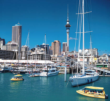 Auckland City of Sails, New Zealand