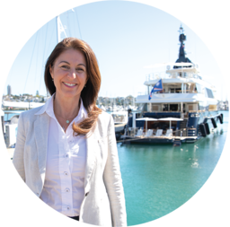 Debbie Wood, Founder & Owner of Amare Super Yacht Services, Auckland, New Zealand