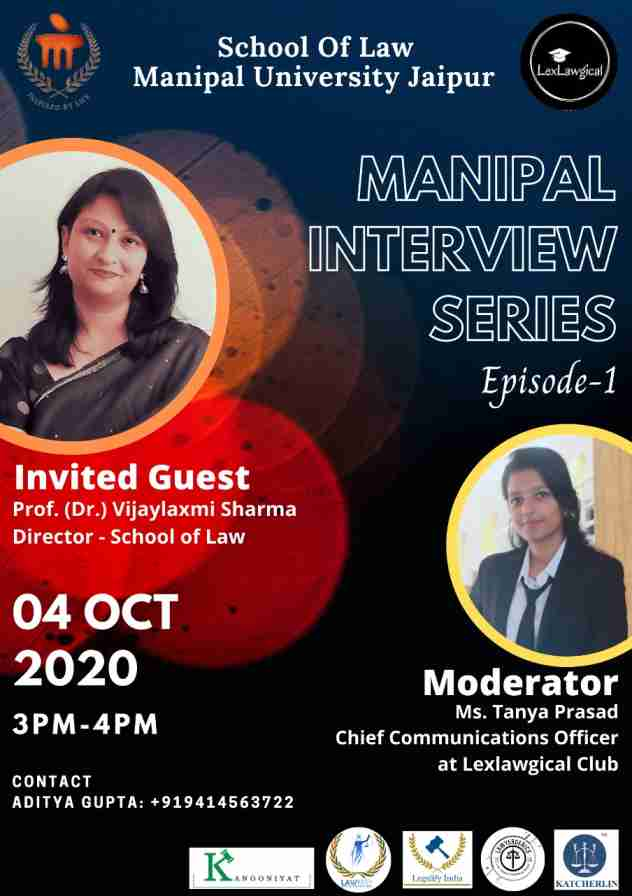 Manipal Interview Series