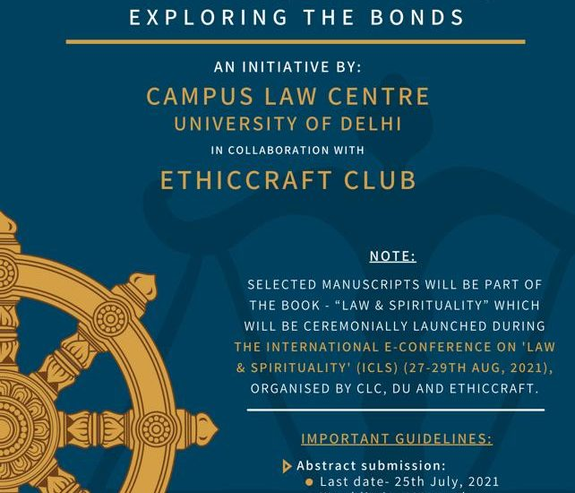 International Conference on Law and Spirituality