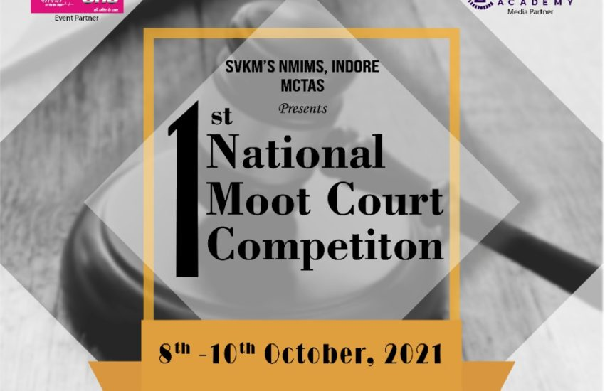 Moot Court Competition at NMIMS Indore