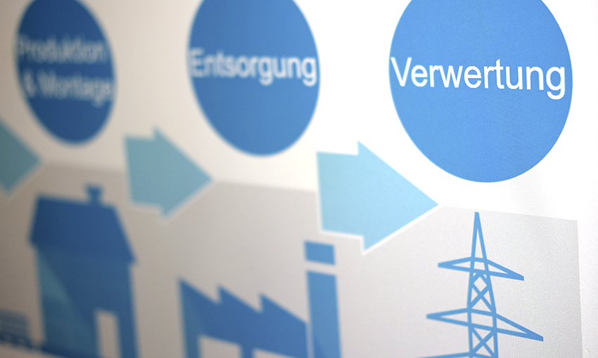 Beispiel-Fotos einer PowerPoint Präsentation für BASF