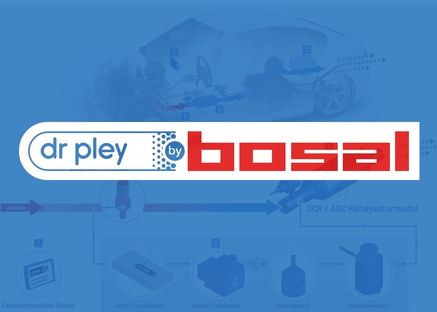 Logoentwicklung Dr Pley by Bosal