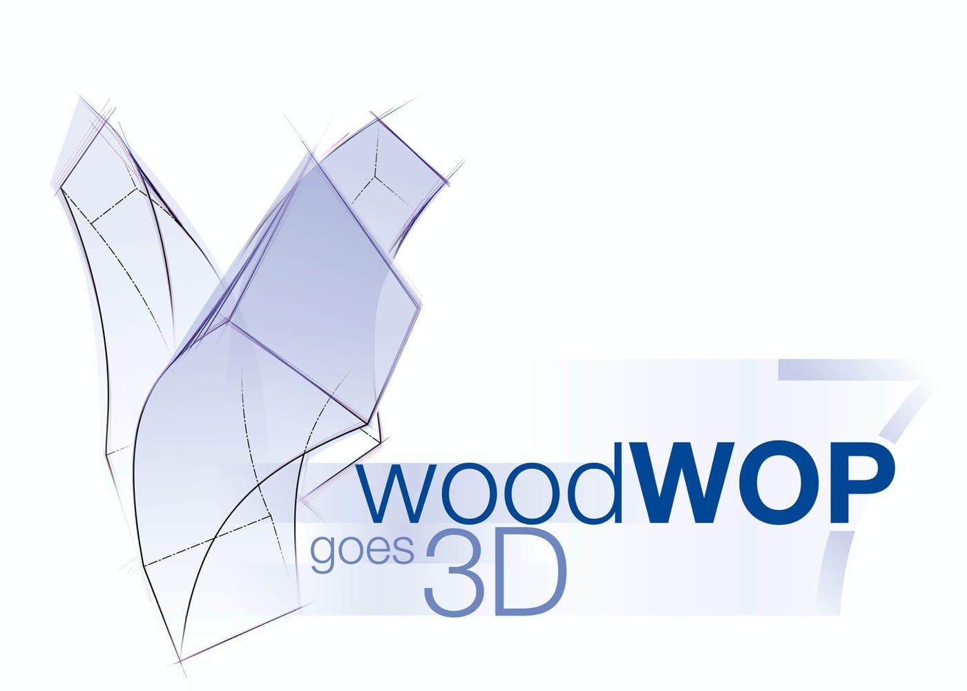 Logoentwicklung WoodWop3D