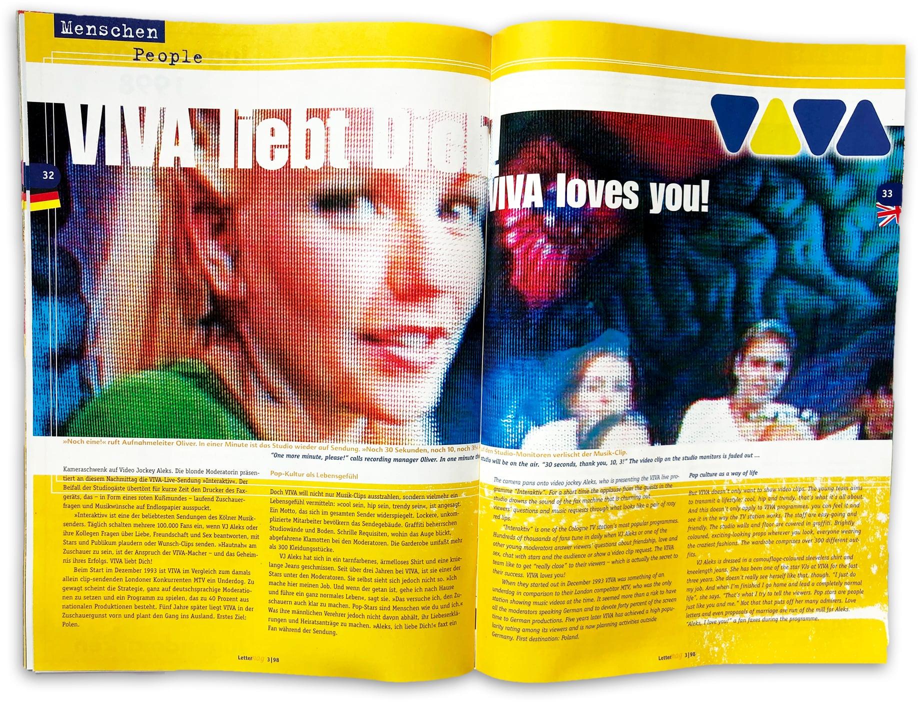 doppelseite Lettermag VIVA