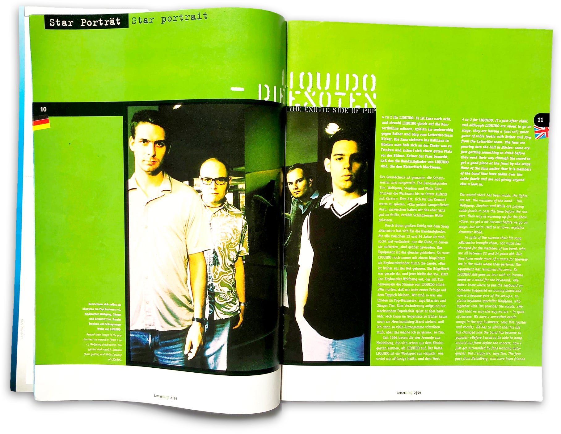 doppelseite Lettermag Interview Liquido
