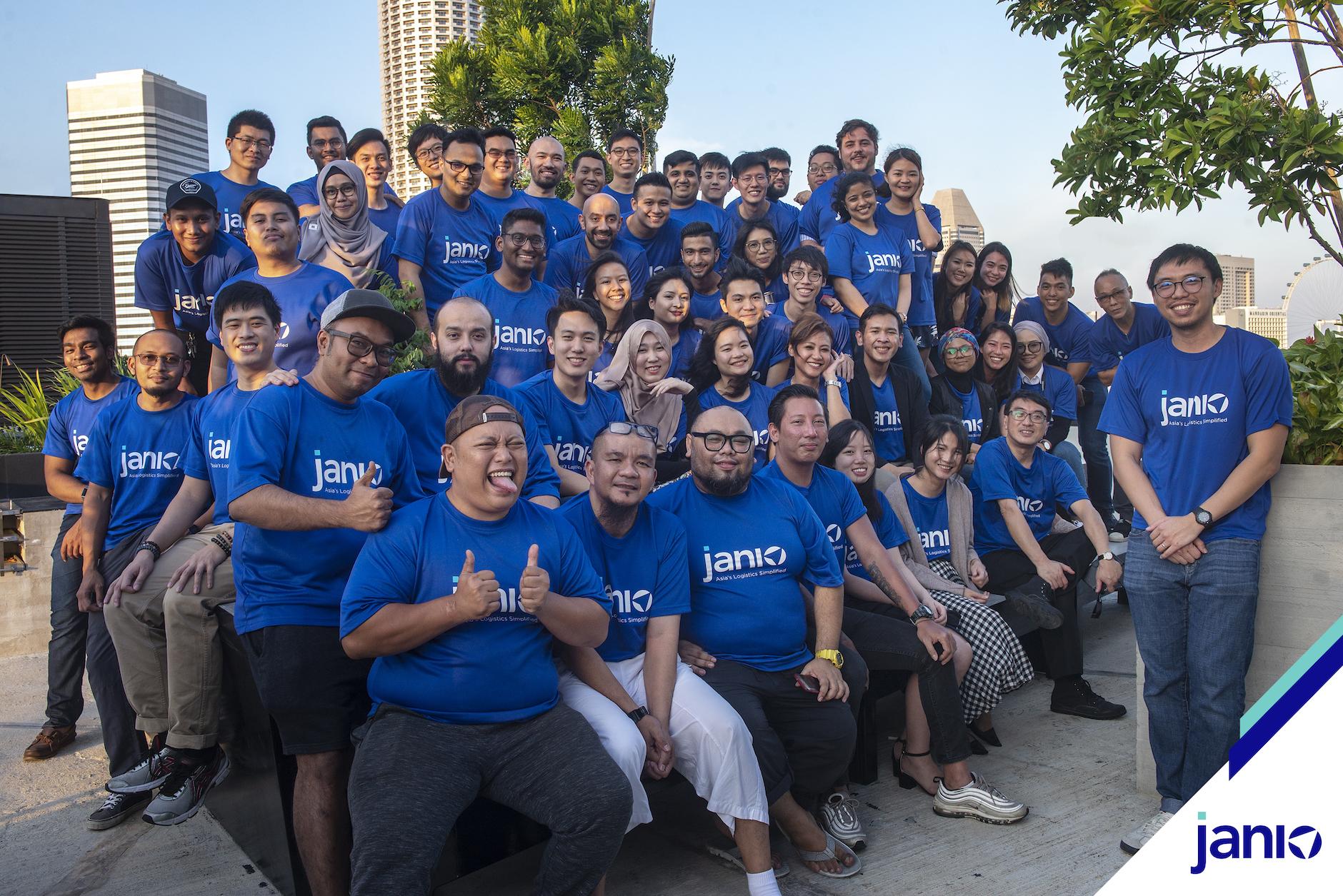 a company group photo