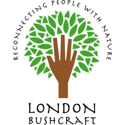 London Bushcraft Logo - A tree with a hand