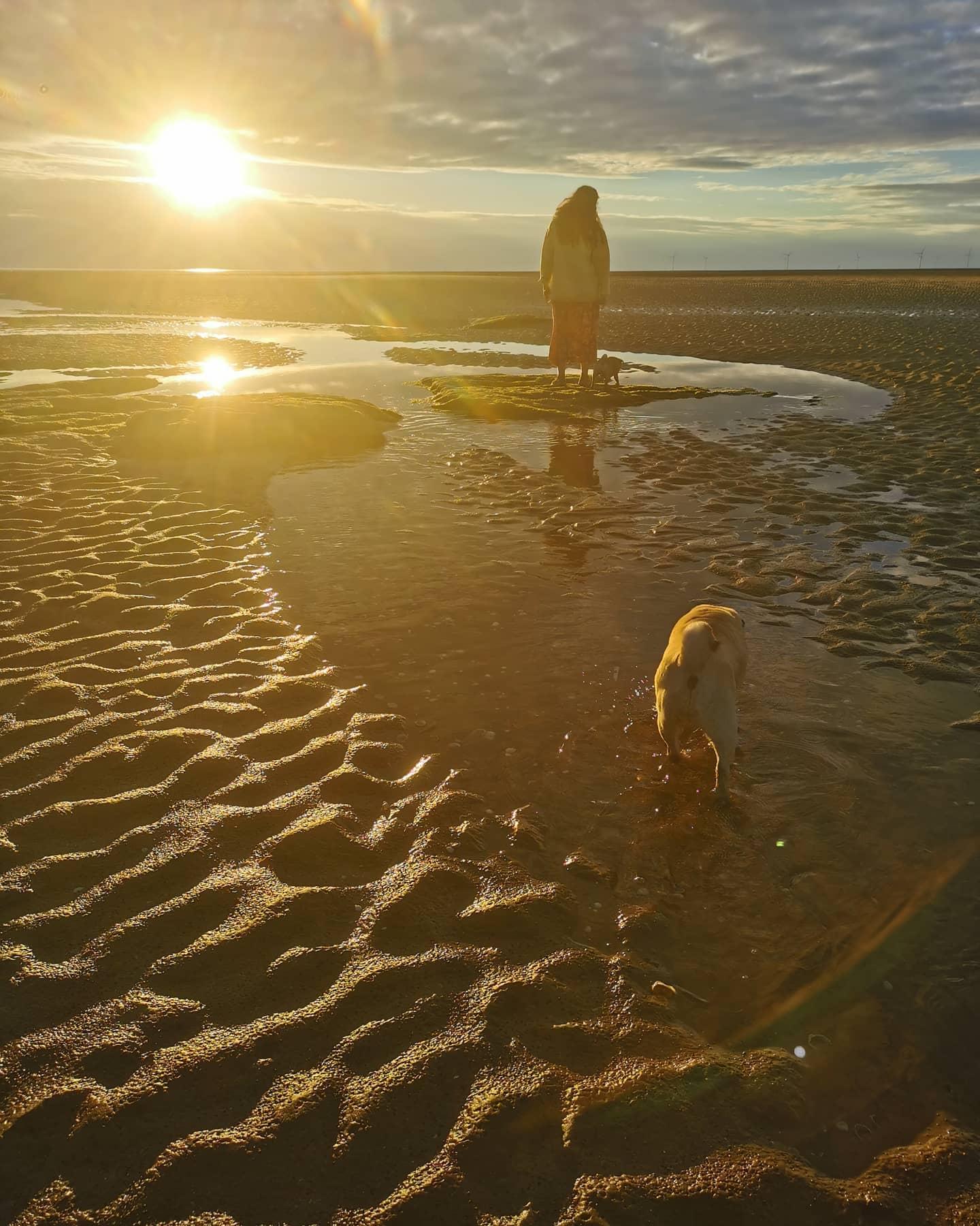 Bella on the beach