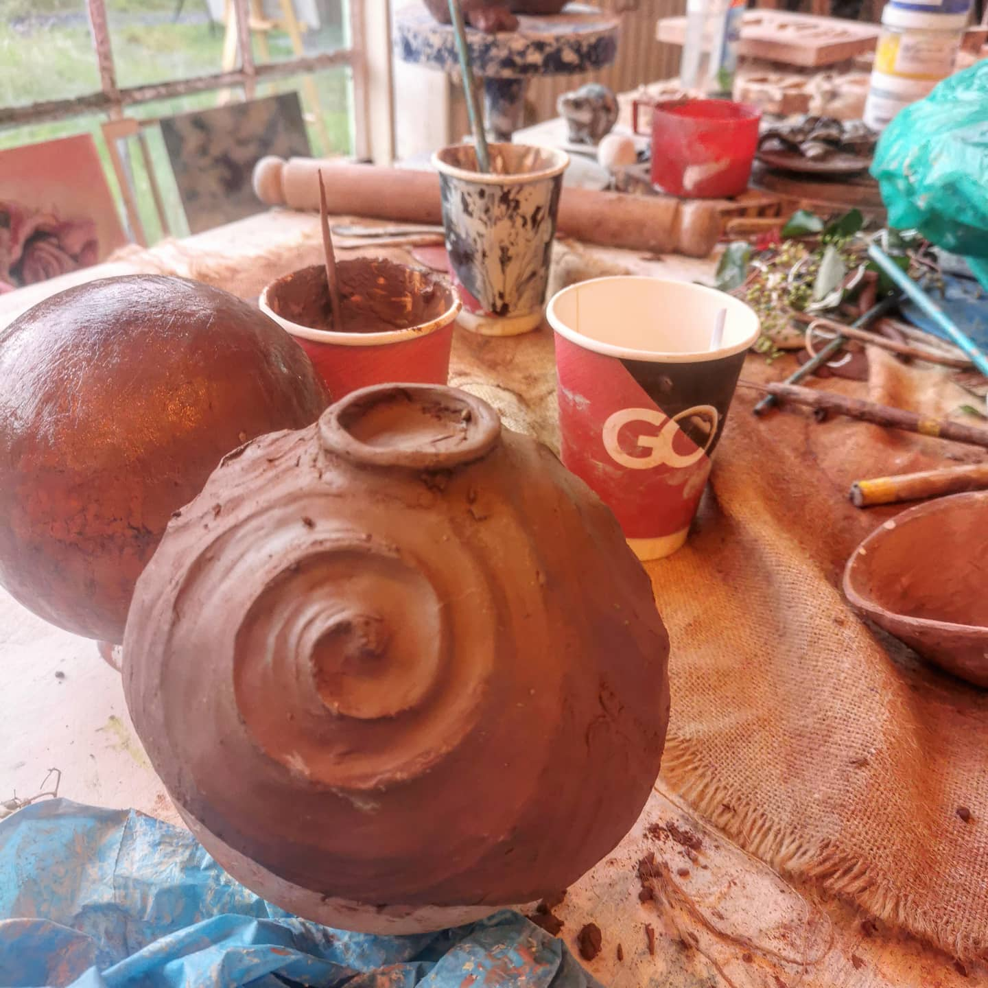 Happy Pottery Workshop day #chestercreatives #potterychester