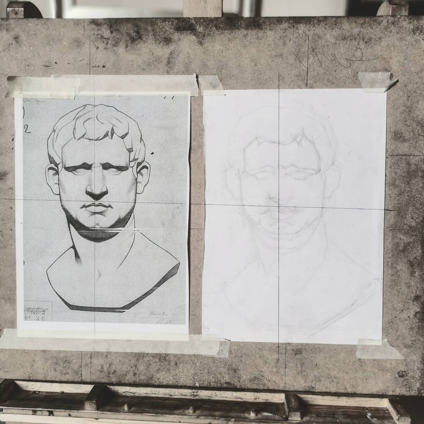 Looks easy... But is some exceptionally difficult drawing to reach anything like  perfection  #edinburghatelieroffineart