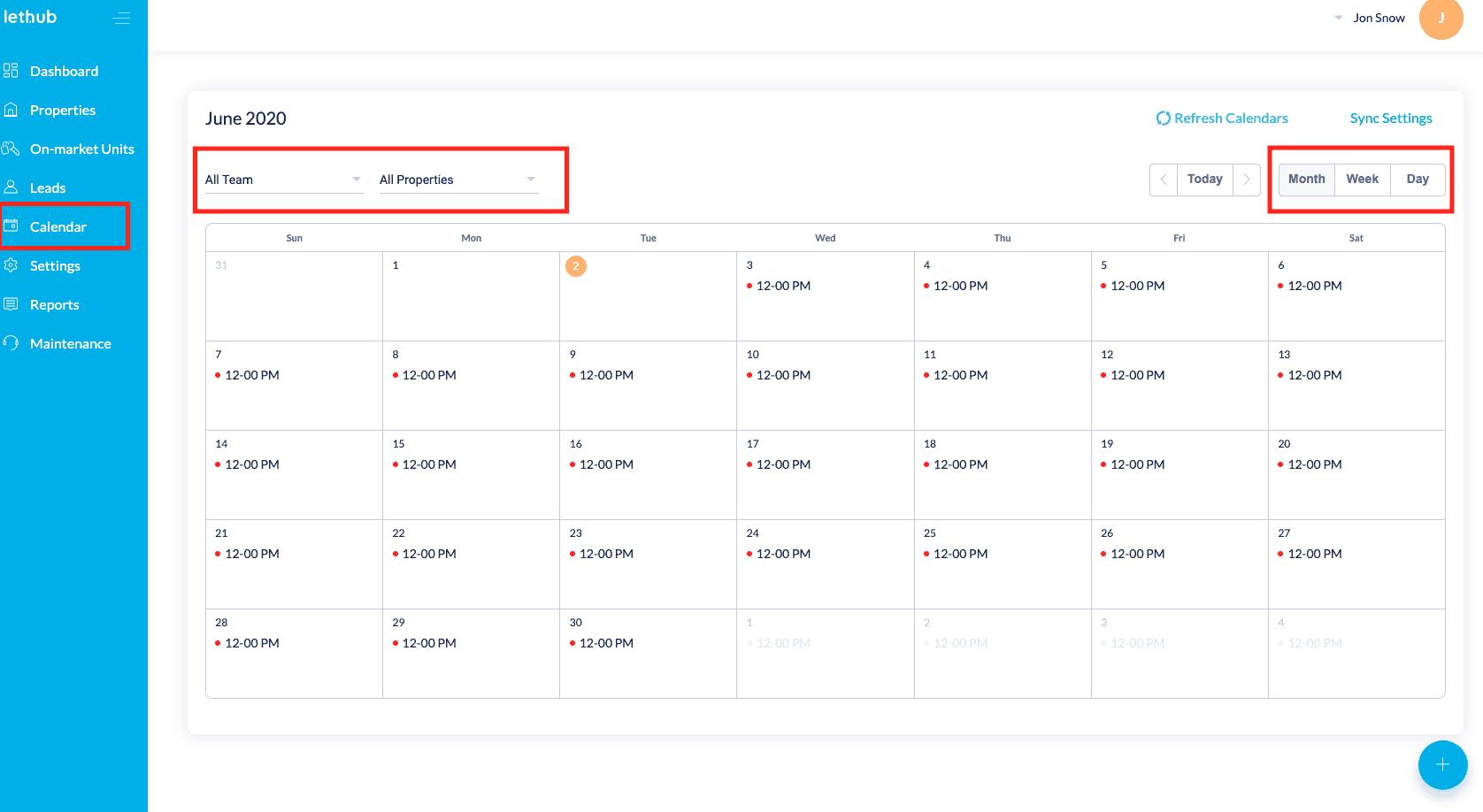 AI syncing the calendar