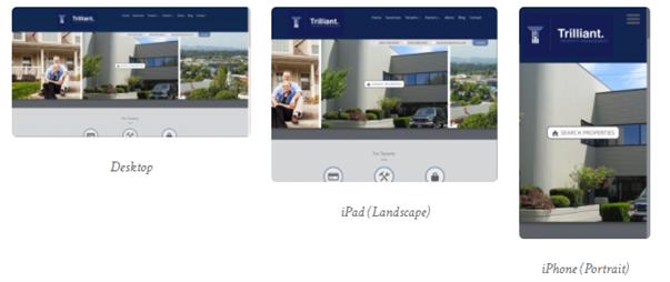 Example of Property management SEO - Website Responsiveness