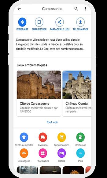 Application Google Maps