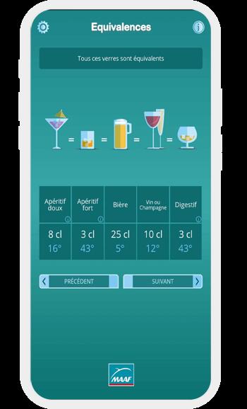 Application alcool conduire